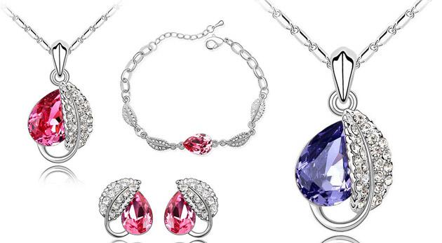 Súťaž o elegantný set šperkov s kryštálmi Swarovski Elements