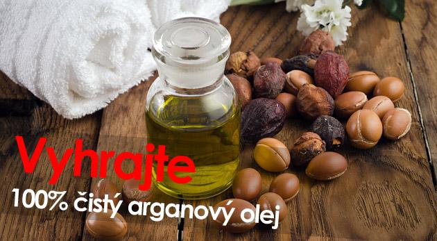 Súťaž o 100% BIO arganový olej