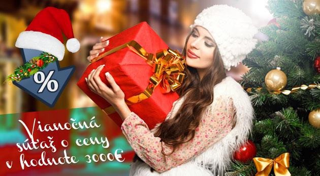 Vianočná súťaž ZaMenej.sk o ceny za 3000 €