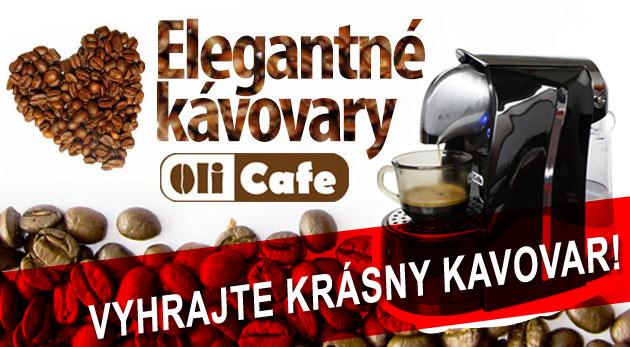 Súťaž o kávovar Olicafe + 10 kapsulí kávy