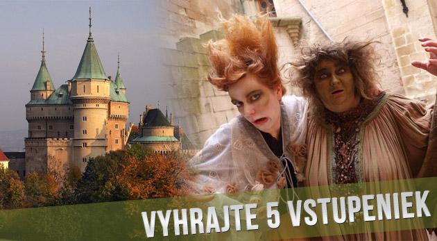 Súťaž o 5 rodinných vstupeniek na festival duchov a strašidiel na Bojnickom zámku