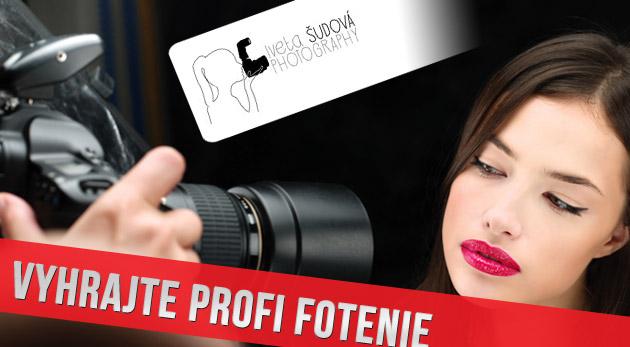 Súťaž o profesionálne fotenie s vizážou a stylingom v ateliéri
