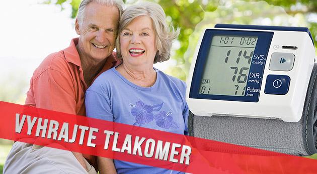 Súťaž o 3 automatické tlakomery