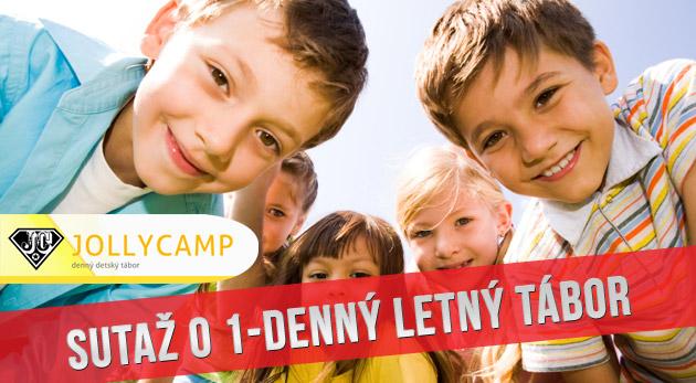 Súťaž o 5 kupónov do denného detského tábora Jolly Camp
