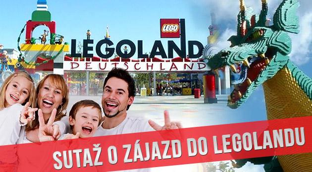 Súťaž o zájazd do Legolandu v Nemecku