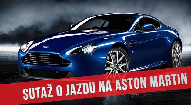Súťaž o jazdu na športiaku Aston Martin V8 Vantage Sportshift