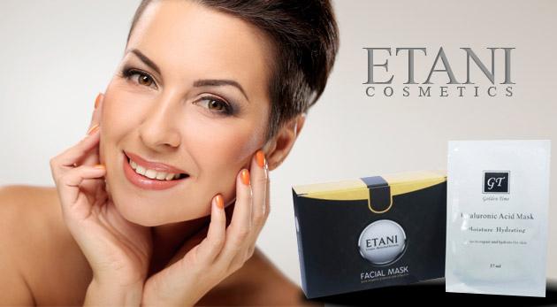 Súťaž o 2 balenia pleťovej masky luxusnej prírodnej lekárskej kozmetiky ETANI