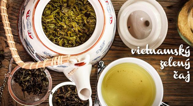 Súťaž o 5 balení zeleného čaju z Vietnamu vrátane poštovného