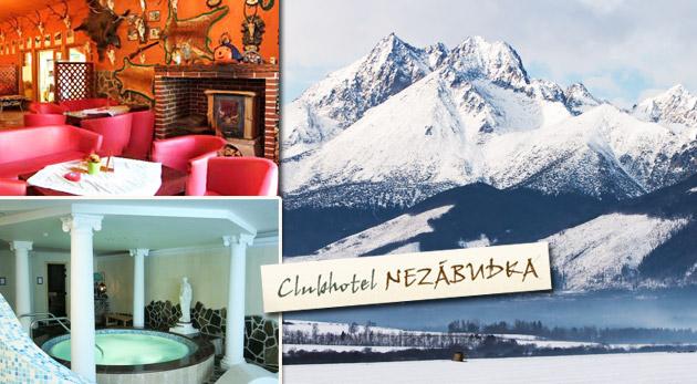 Súťaž o 6-dňový pobyt pre dvojicu na nezabudnutie v Clubhotel Nezábudka*** vo Vysokých Tatrách