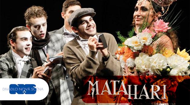 Súťaž o 2 vstupenky na muzikál Mata Hari v Divadle Nová scéna dňa 18.12.2014