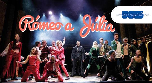 Súťaž o 2 vstupenky na svetoznámy muzikál Rómeo a Júlia v Divadle Nová scéna dňa 25.2.2015