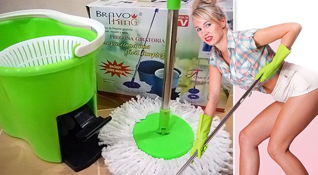Súťaž o dvoch pomocníkov na upratovanie - Magic Mop 360°