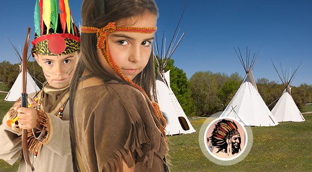 """Súťaž o letný detský indiánsky tábor """"Na prérie a do lesov!"""" neďaleko Kremnických Baní"""