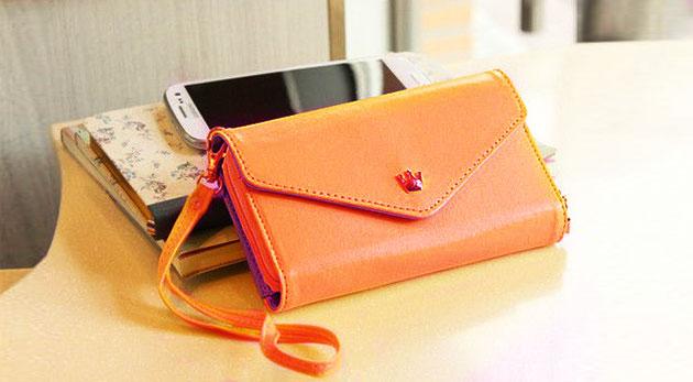 Súťaž o 3 mini kabelky, peňaženky a puzdra na mobil v jednom