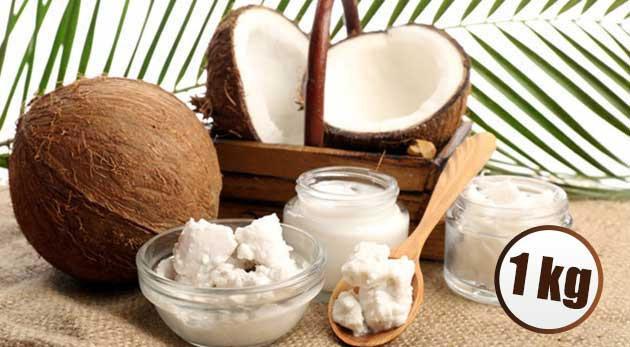Súťaž o 1 kg balenie kokosového oleja
