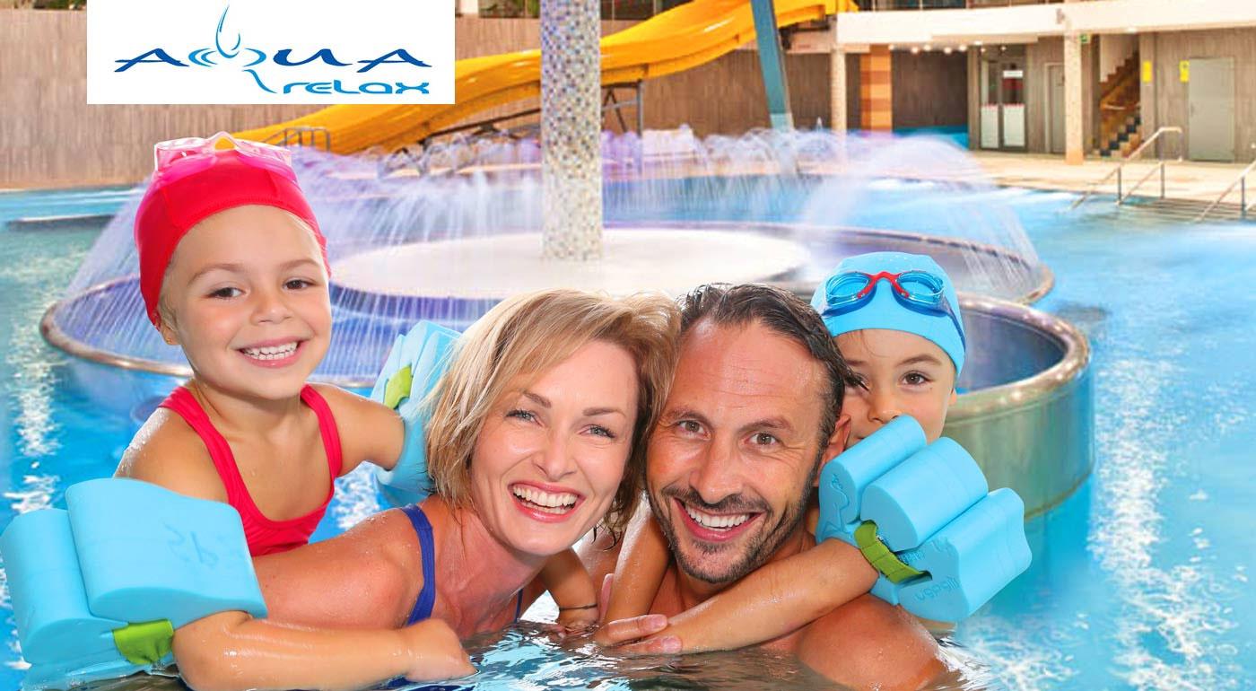 Súťaž o tri rodinné vstupenky do Aquaparku AquaRelax v Dolnom Kubíne