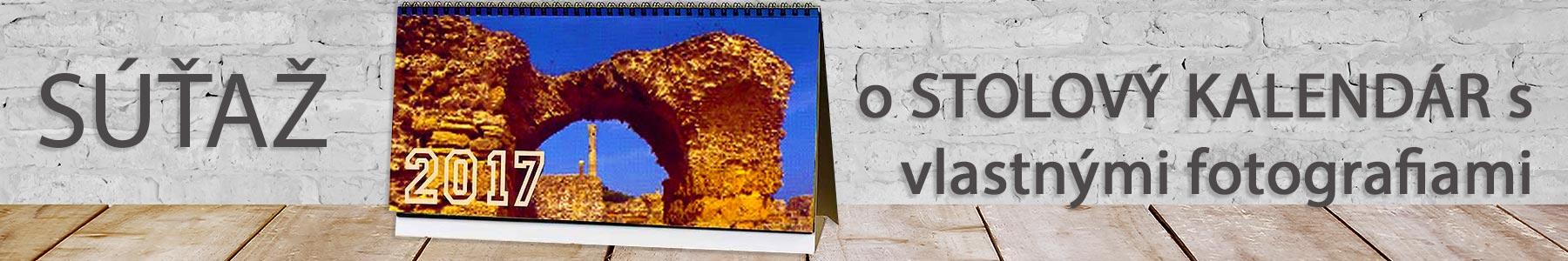 Súťaž o stolový týždenný kalendár s vašimi vlastnými fotografiami