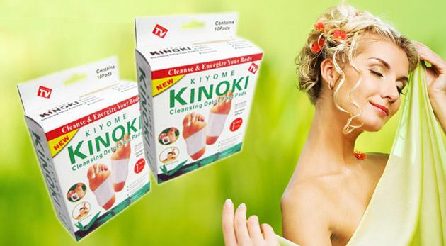 Súťaž o detoxikačné náplaste Kinoki