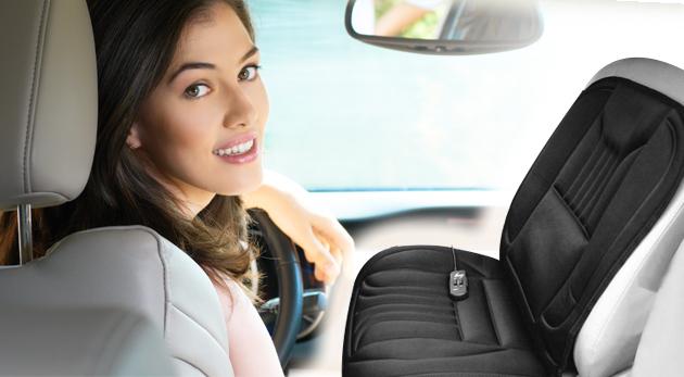 Súťaž o vyhrievaciu podložku na sedadlo auta