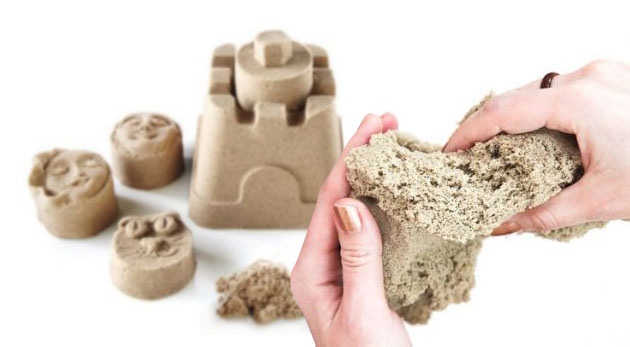 Súťaž o 3 sady magického piesku na modelovanie