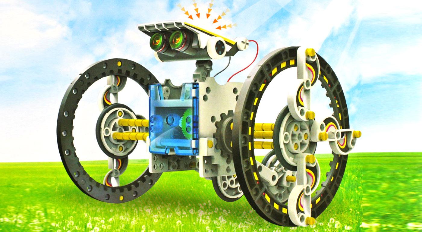 Súťaž o stavebnicu 14 v 1 - Solárny robot