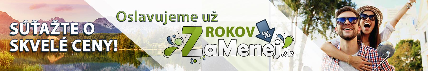 7. Veľká narodeninová súťaž ZaMenej.sk