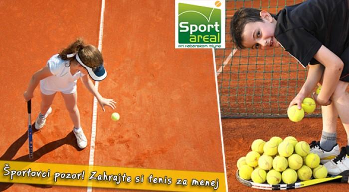 Zľava na prenájom tenisových kurtov za super cenu