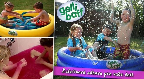 Gelli Baff - zázračný prášok, ktorý mení vodu na skvelú zábavu
