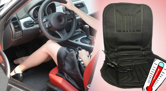 Vyhrievacia podložka na sedadlá do auta. Super pomocník na chladné a zimné dni.