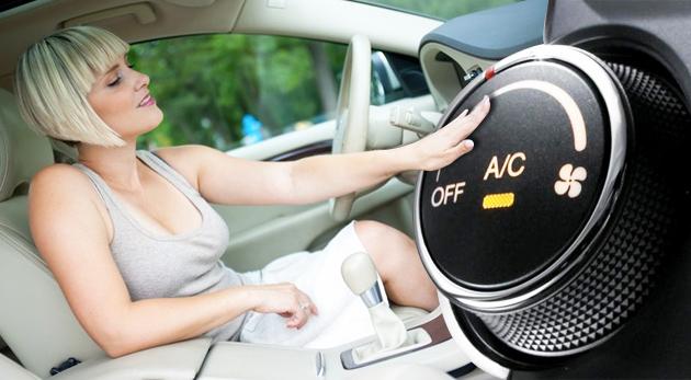 Plnenie klimatizácie do automobilu a čistenie ozónom zadarmo
