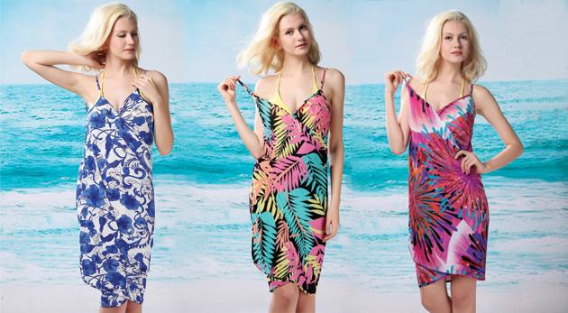 Jemné a chladivé zavinovacie šaty na pláž - fantastických 21 druhov! c6d52a37c3