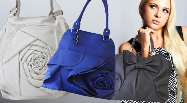 Trendy dámska kabelka s nezvyčajnými motívmi