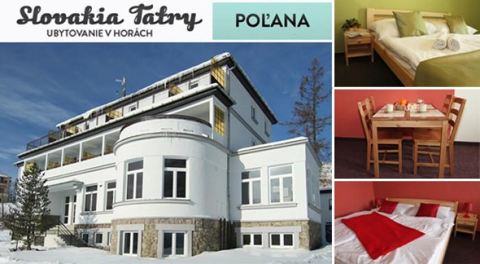 3 dni vo Vysokých Tatrách - Penzión Poľana