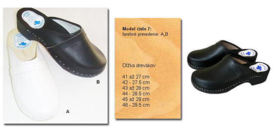 05da6a7d830c8 Pohodlné a trendy dreváky. Široký výber z 8 druhov a 7 farieb ...