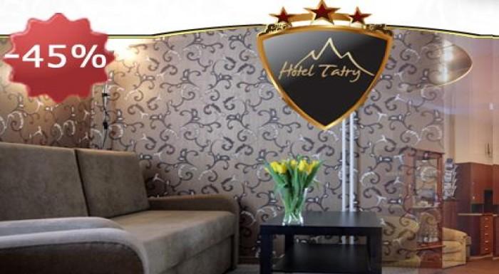 Skvelý 4-dňový pobyt pre dve osoby v Hoteli Tatry*
