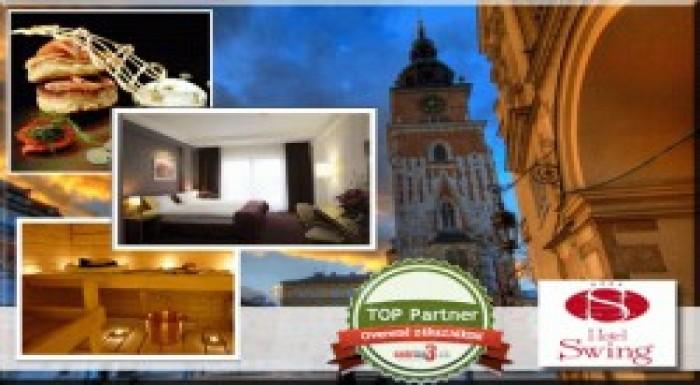 UŽ LEN DNES! Hotel SWING**** v historickom Krakowe