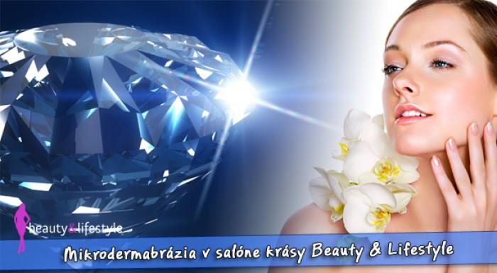 Mikrodermabrázia - ošetrenie pre hladkú a hebkú pleť v Beauty & Lifestyle.