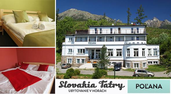 4 dňový pobyt v Penzióne*** Poľana. Polpenzia, welcome drink, sauna a množstvo ďalších bonusov.