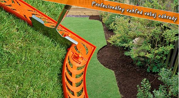 Perfect Edge - perfektne upravená záhradka, ktorú vám budú susedia závidieť.