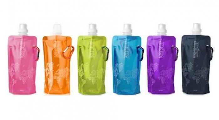 Univerzálna skladacia fľaša - praktická, ľahká, pr