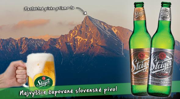 Pivo na Kriváni - pripite si s nami a zároveň prispejte na dobrú vec v našich Tatrách.
