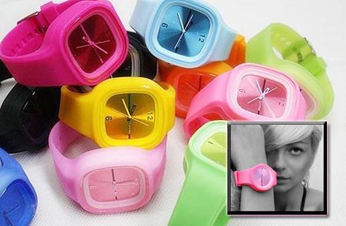 UNISEX silikónové hodinky Jelly (VRÁTANE POŠTOVNÉHO) 89e043750bb
