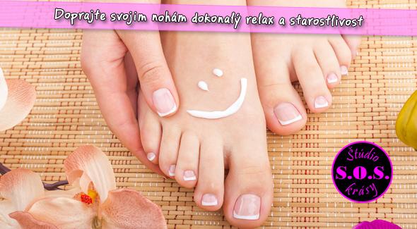 Relax pre vaše nohy po náročnom lete. Pedikúra + masáž nôh.