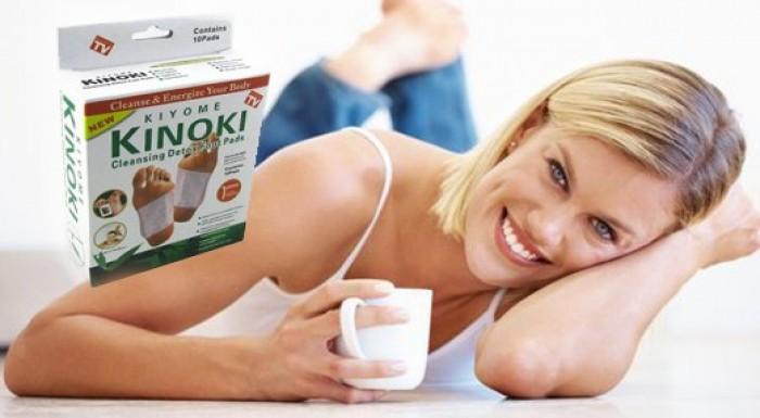 Kinoki – Detoxikačné náplaste na nohy- Len 3,50 €