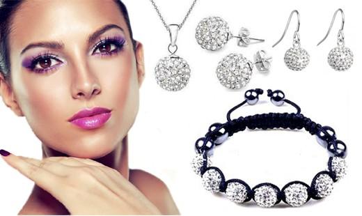 Krásny 7-dielny set šperkov Swarovski elements | ZaMenej.sk
