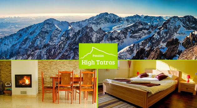 Romantický pobyt pre dvoch v Penzióne High Tatras