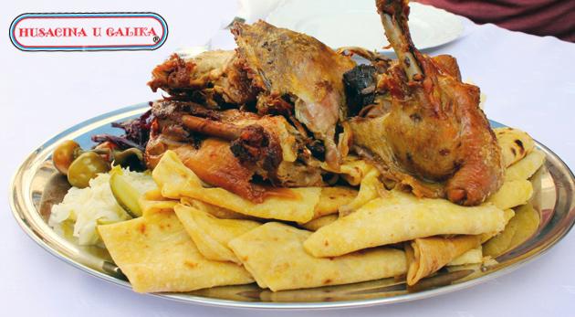 Lahodné kačacie alebo husacie hody u Galika v Reštaurácii Marianna vo Viničnom