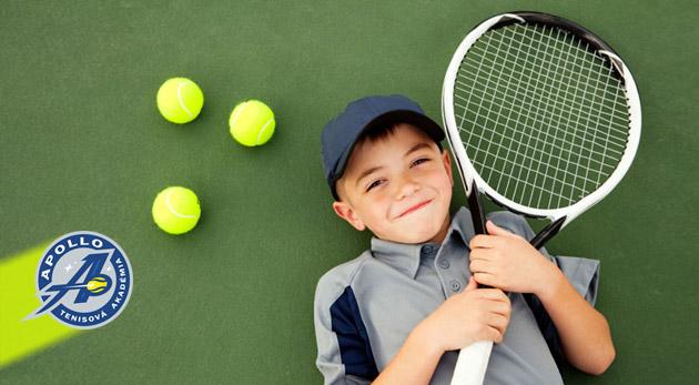 Úvodné 4 hodiny krúžku tenisu pre deti pod vedením profesionála