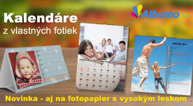 Kreatívny fotokalendár na rok 2015 - nástenný alebo stolový