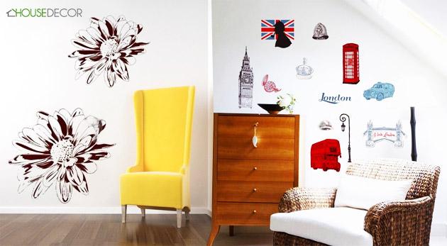 HOUSEDECOR - dekoračné nálepky na stenu